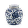 Blue & White Swallows & Flowers Ancestor Jar - 2 Sizes