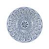 Blue & White Porcelain Bowl Turtle Shell Motif