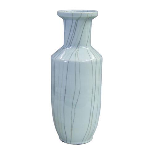 Crackle Celadon BaoZi Vase