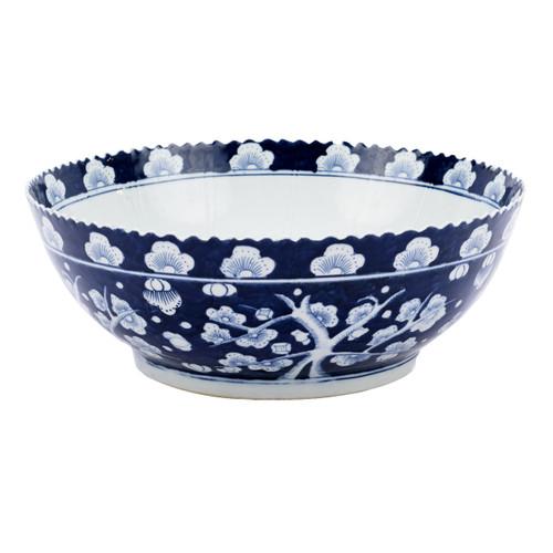 Plum Blossom Porcelain Bowl