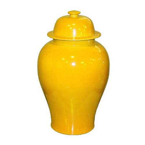 Yellow Temple Jar - M