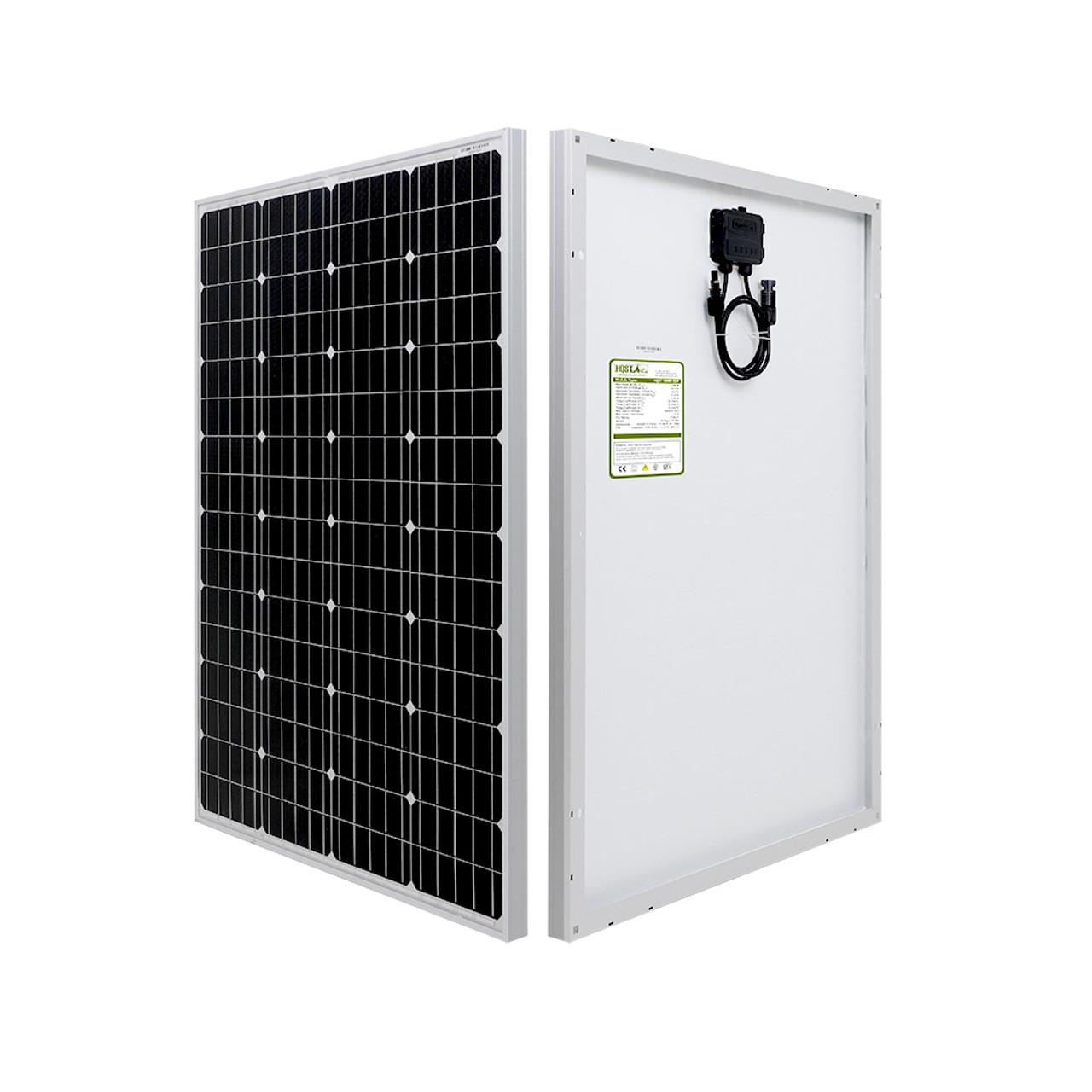 100 Watt 12 Volt Monocrystalline Solar Panel