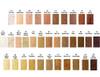 35 foundation colors to choose from. Samples start at just $1.00