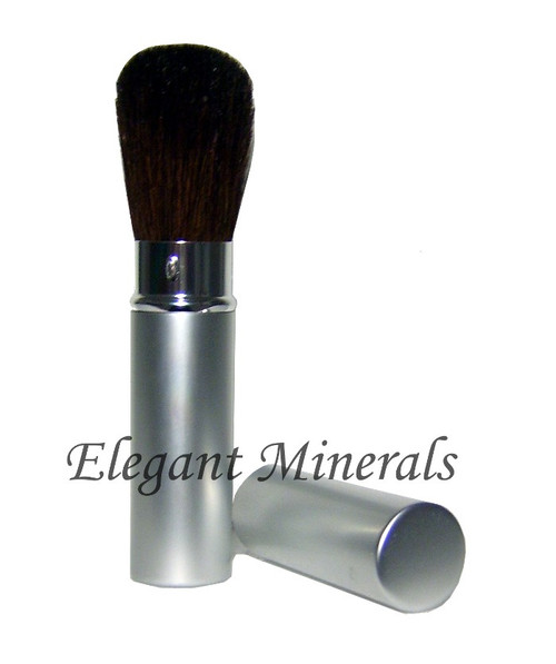 Retractable Silver Powder Brush