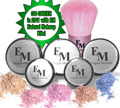"""Get twice the foundation colors, you can select the same color or a secondary color to help you achieve your custom blend. This is an deluxe Starter & Travel kit because it's easily portable. Checkout our, """" At Home Kits for the larger sizes."""