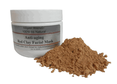 All Natural Red Clay Facial Mask