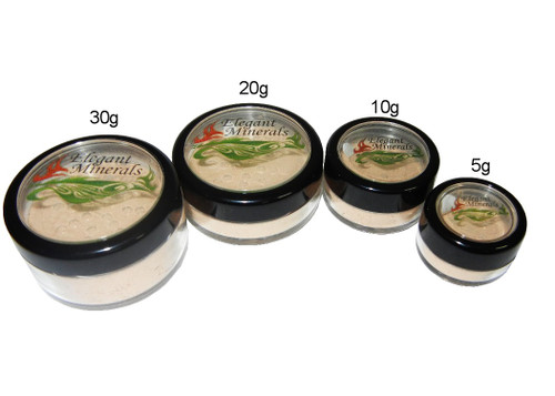 X-large: 30g jar will last approx. 6-7-months<br>  Large: 20g jar will last approx. 4-6-months<br>  Medium: 10g jar will last approx. 2-3 months <br> Small: 5g jar will last approx. 4-6 weeks <br>  Filled to capacity, you'll never receive a 1/2 empty jar!