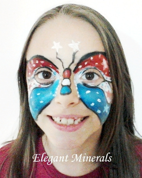 5pc Natural Face Paint Stackable Halloween Makeup Kit - Select from 5 Popular Sets