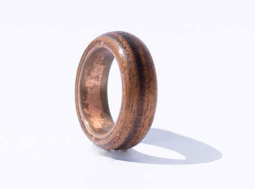 Female Koa Wood Ring