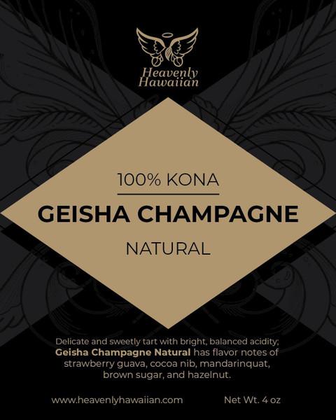 Kona Geisha Champagne 4 oz