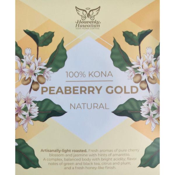 Kona Peaberry Gold 100% Kona Coffee