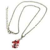 Cardinal Swarovski Crystal Necklace - Pendant Necklace -Christmas Necklace - Christmas Jewelry Gift - NE3100A