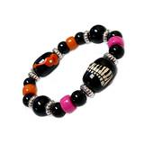 Kids Music Piano Keyboard Guitar Bracelet - Gift for Little Girl - Handmade Glass Beaded Bracelet  for Daughters  - Fiona -  IUP496_KID