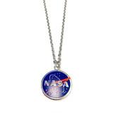 NASA Logo Necklace - Science Galaxy Astronomy Jewelry Gift for Women - Fiona -  NE3180A