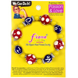"""fiona Rosie The Riveter Jewelry - Bracelet Earring Jewelry Set - Girl Power - Gift for Women - We Can Do It Bracelet - 7.5"""" Length 2.5"""" Inner Diameter"""