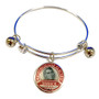 Rosie the Riveter Charm Adjustable Bangle (BR-3031B)