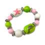 Dolphin Starfish Kids Glass Bead Bracelet - Handmade Ocean Beach Glass Crystal Jewelry  Beaded Jewelry for Daughter Little Girl - Fiona - LP0711201222