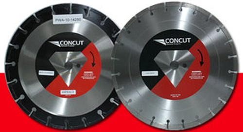 "New 12"" x 125 Concut Pro Diamond Blade Supreme Asphalt"