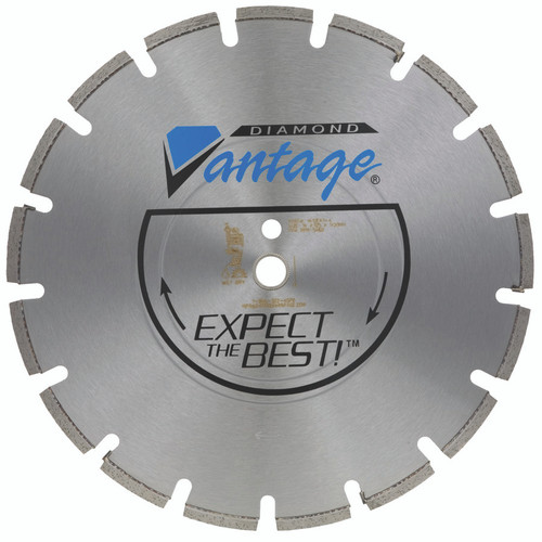 26 x 155 Diamond Vantage Pro Blade Green Concrete Supreme Grade Saw Road Street