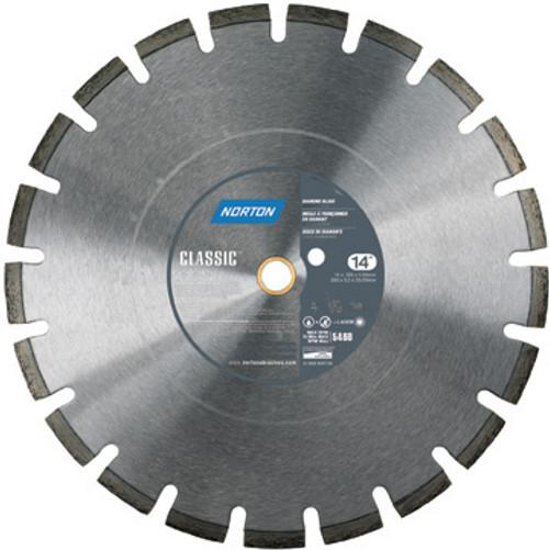 26 x 155 Norton Classic Cured Concrete Diamond Blade Medium Aggregates