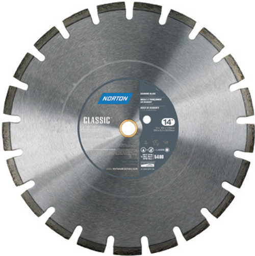 30 x 175 Norton Clipper Classic Cured Concrete Diamond Blade Medium Aggregate (70184683386) Small Seeds