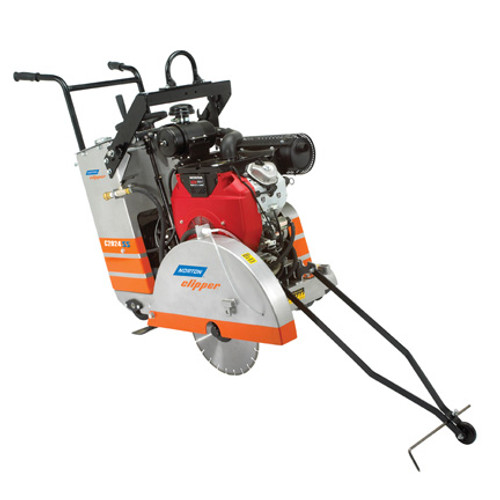 "24"" Norton Clipper Walk Behind 20HP Mid Range Self Propelled C2024SS Flat Saw (70184627371) Small Seeds"