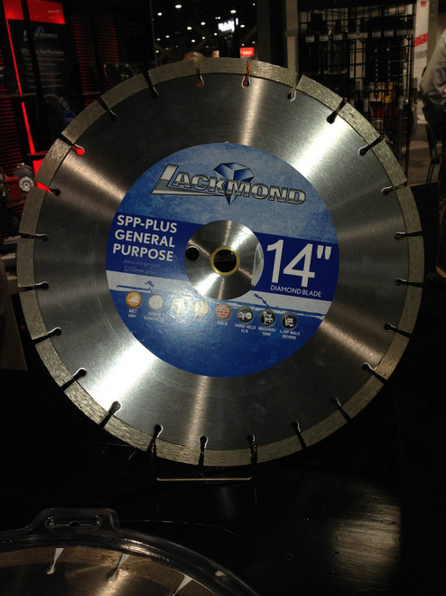 Small Seeds Lackmond 14 x 125 Diamond Blade