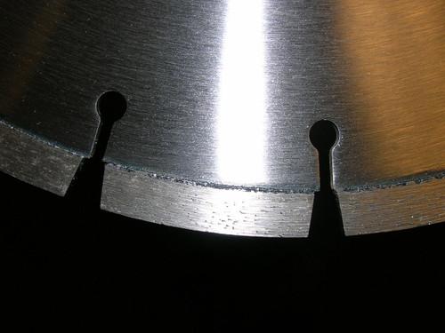 "16 X 125 X 1""-20MM Masonry Core Block Key Slot Lab Diamond Vantage"