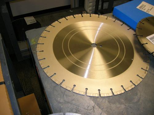 16 x 125 Diamond Vantage Turbo Cured Concrete Lab Core Sample Masonry Blade