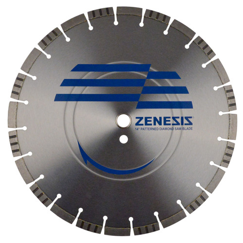 18 x 187 Zenesis Cured Concrete Pro Diamond Blade Road Street Demolition Repair