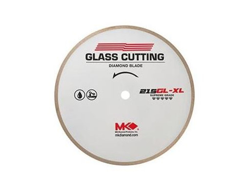 "7"" MK Diamond Premium Thin-Rim Glass Cutting Blade MK-215GL-XL"