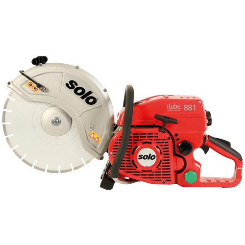 Small Seeds  Solo 881-14 iLube 81cc Cut Off Saw, Accepts a 14-Inch Cutting Wheel for Concrete, Steel, Asphalt, Cast Iron or Stone
