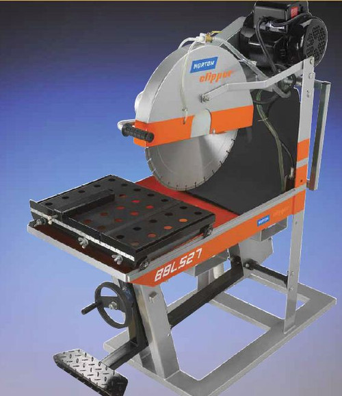 "Norton BBL727 Small Seeds 20"" Clipper Masonry Saw Small Seeds 70184683485"