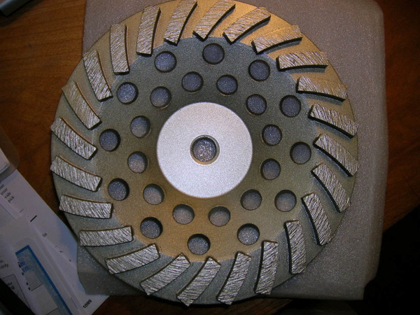 "Concut DT-Fan-7-24 7"" 24 Segs 5/8"" - 11 thread  Small Seeds"