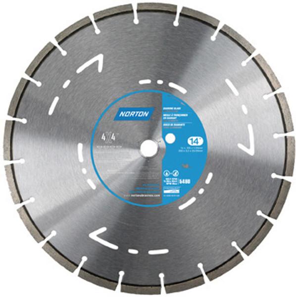 Norton Diamond Blade 4X4 Concrete High Speed Saw 70184684548 Small Seeds