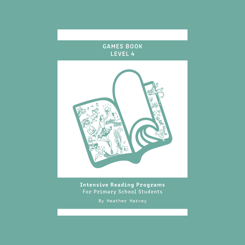 Games Book Level 4 - Primary - Reading Age: 9.0 - 10.6