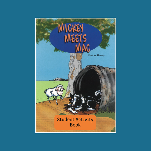 Student Activity Book - Mickey Meets Mac - Reading Age: 7.0 - 7.6
