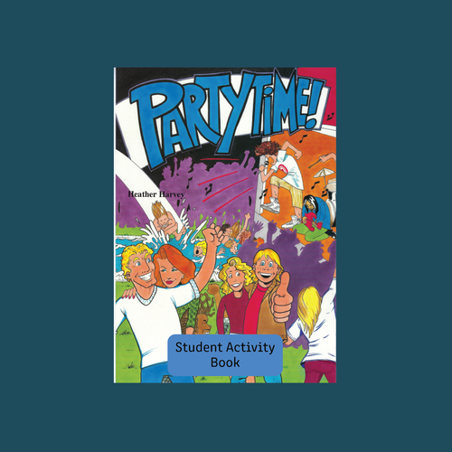 Student Activity Book - Party Time! - Reading Age: 9.6 - 10.6