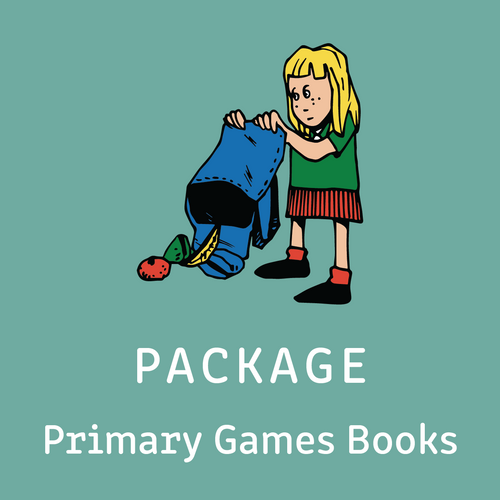 Package - Primary Intensive Reading Program Games Books - Includes all 4 Primary Games Books - Reading Age: 7.0 - 10.6