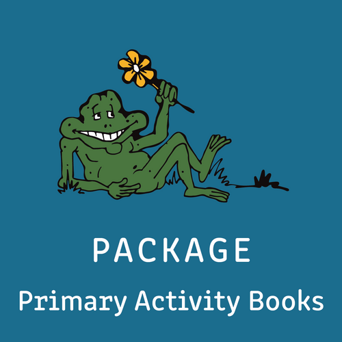 Package - Primary Student Activity Books - Includes all 8 Activity Books - Reading Age: 7.0 - 10.6