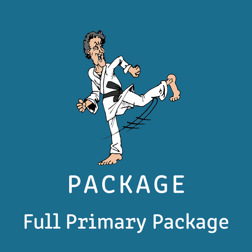 Package - Full Package Primary Intensive Reading Program  - (excludes Grammar Books) - Reading Age: 7.0 - 10.6