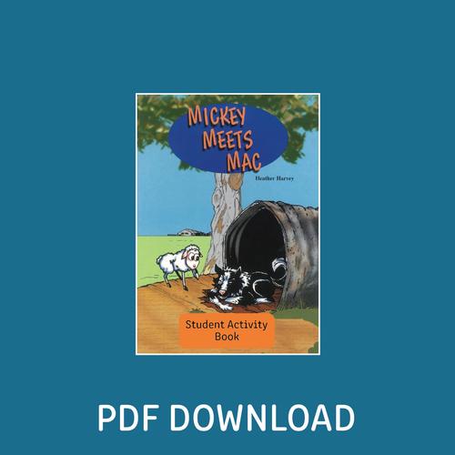 Digital - Mickey Meets Mac Student Activity Book - Reading Age: 7.0 - 7.6