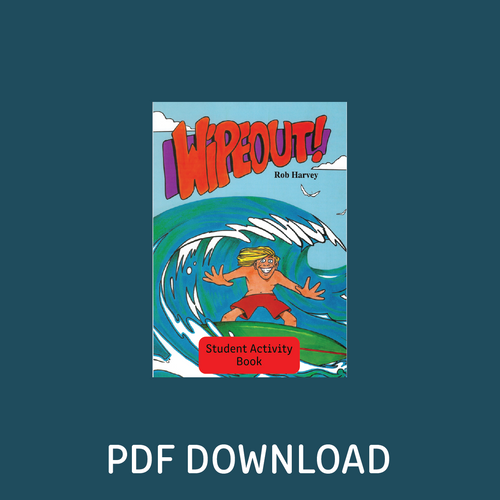 Digital - Wipeout! Student Activity Book - Reading Age: 9.6 - 10.6