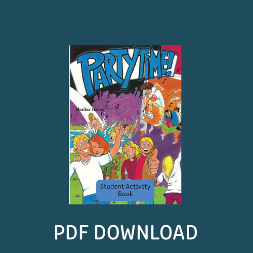 Digital - Party Time! Student Activity Book - Reading Age: 9.6 - 10.6