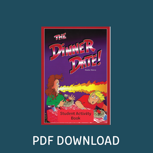 Digital - The Dinner Date! Student Activity Book - Reading Age: 9.6 - 10.6