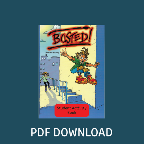 Digital - Busted! Student Activity Book - Reading Age: 9.6 - 10.6