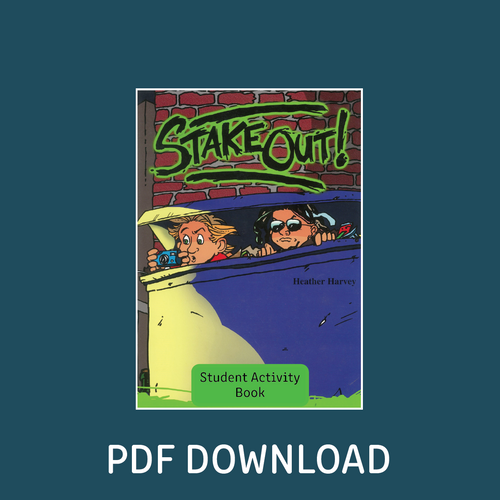 Digital - Stake Out Student Activity Book - Reading Age: 9.6 - 10.6