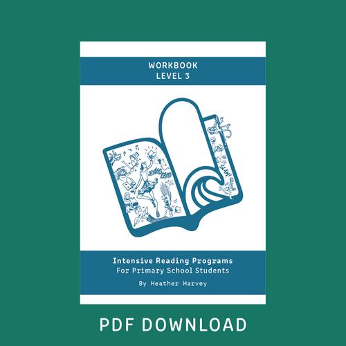 Digital - Primary Student Workbook Level 3 - Reading Age 8.6 - 9.6
