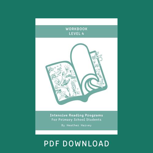 Digital - Primary Student Workbook Level 4 - Reading Age 9.0 - 10.6