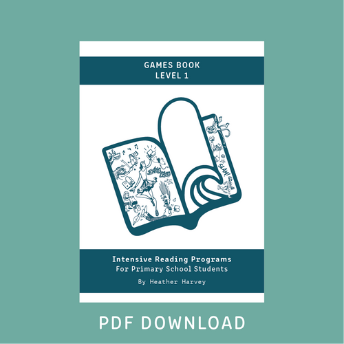 Digital - Primary Games Book Level 1 - Reading Age 7.0 - 7.6